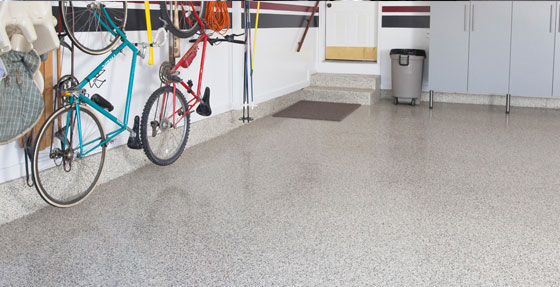 Epoxy-Floor-Garage-Highland Park